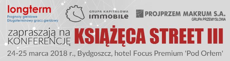 Win a free ticket to the 'Książęca Street III' conference with Longterm and PROJPRZEM MAKRUM