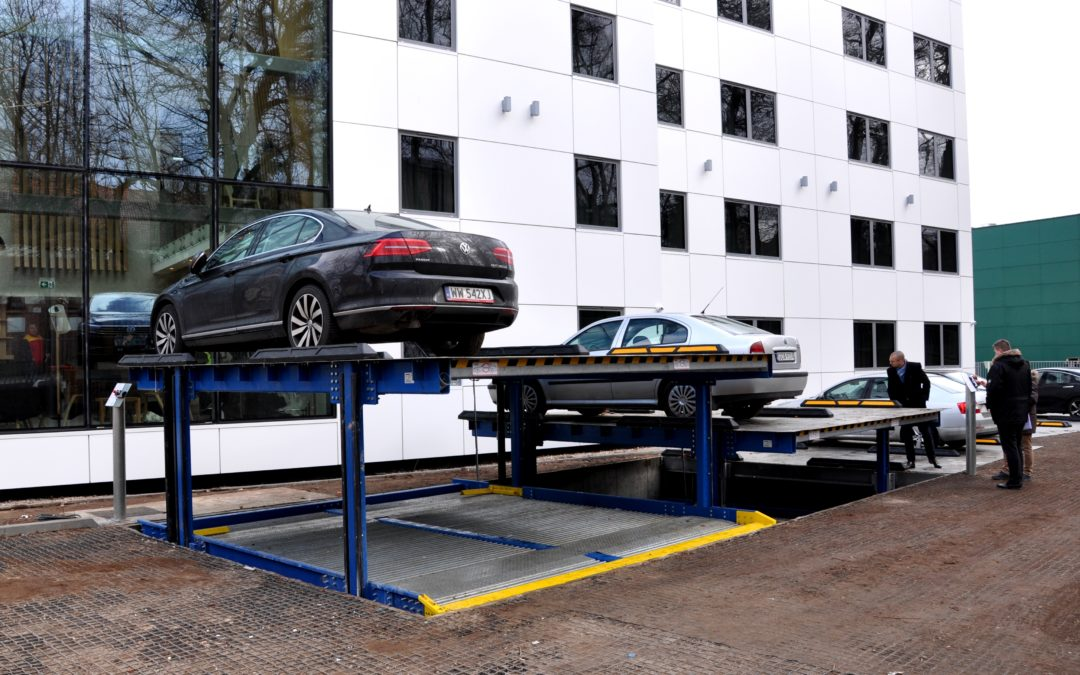 MODULO Parking systems in new hotel in Sopot
