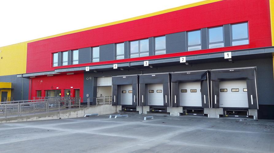 PROMStahl realisation for DHL company in Gdańsk