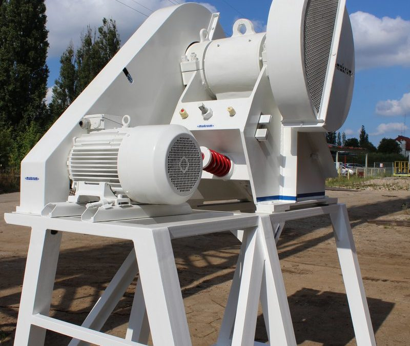 Another impressive crusher left the MAKRUM factory