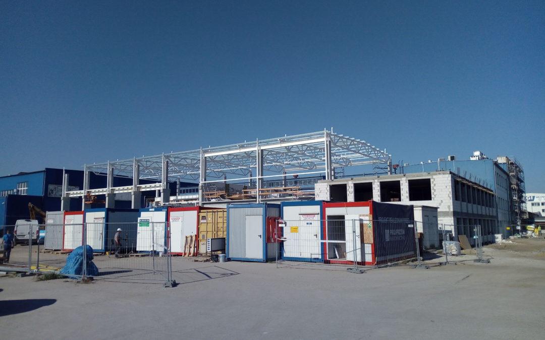 Development of the industrial construction segment in 2018