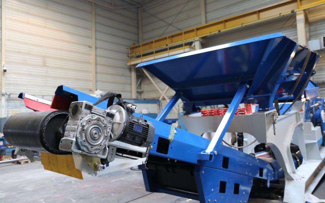 Mobile version of the Asphalt Destruct Granulator