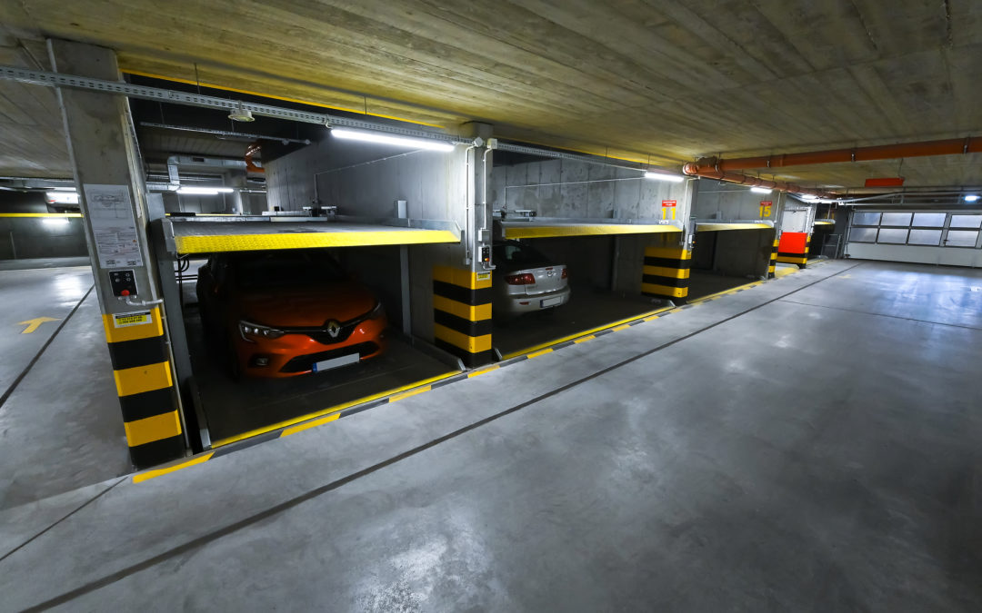 Implementation of MODULO automatic parking systems in Krakow