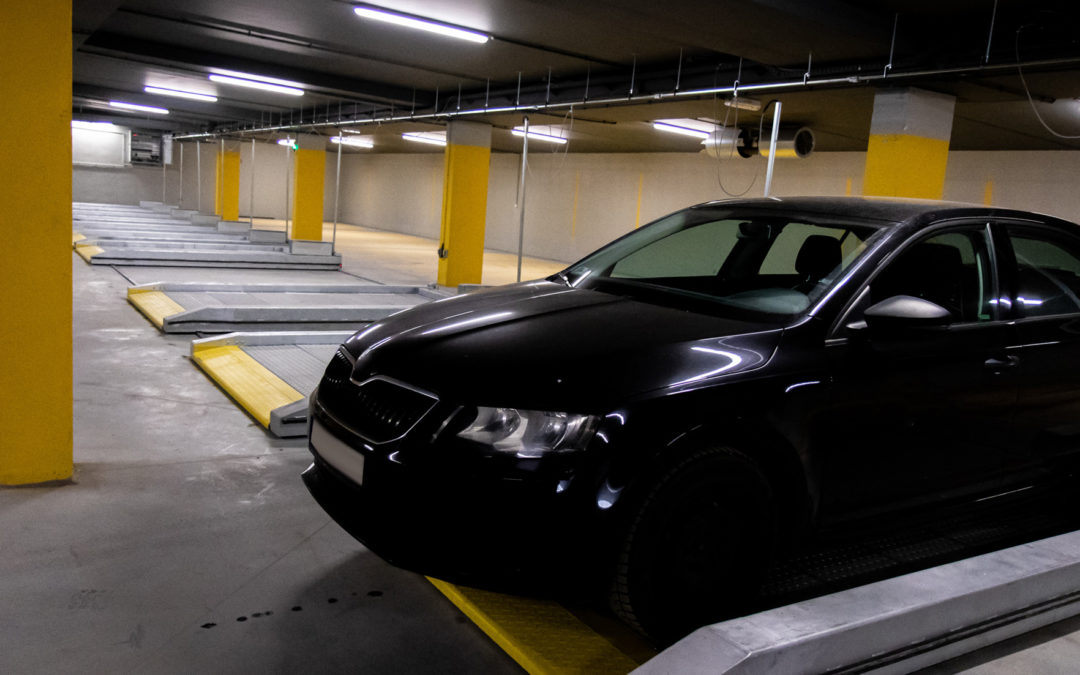 Implementation of Modulo automatic parking systems in Bydgoszcz