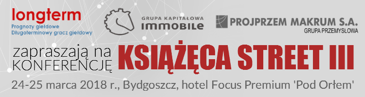 Win a free ticket to the 'Książęca Street III' conference with Longterm and PROJPRZEM MAKRUM