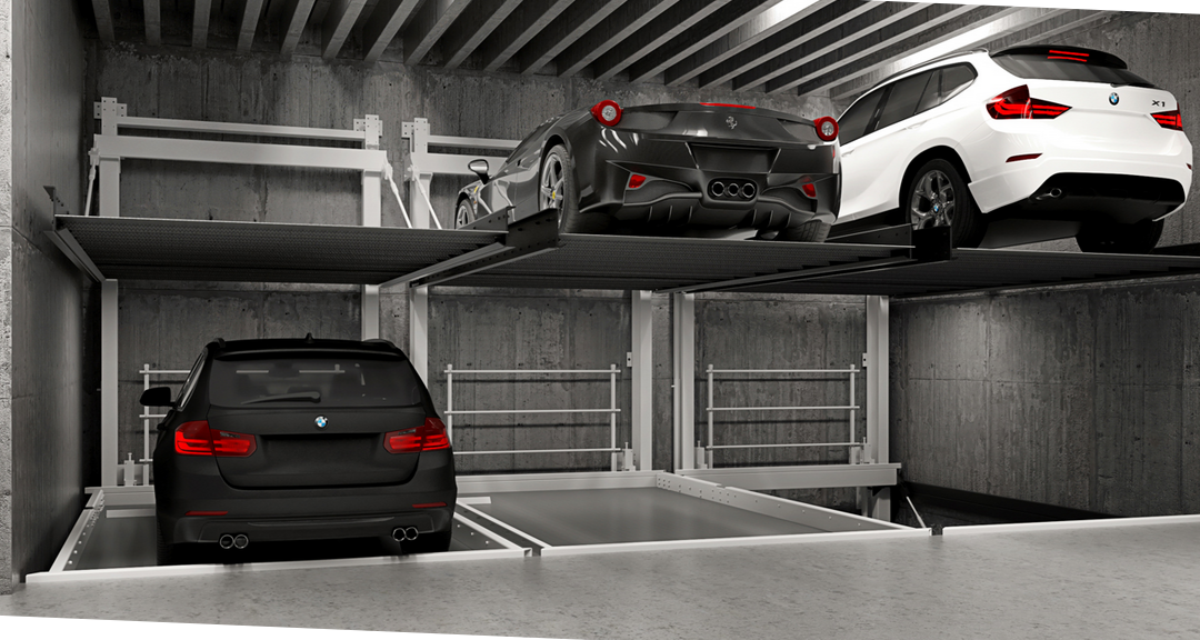Lift & Slide – a new system in the MODULO Parking family