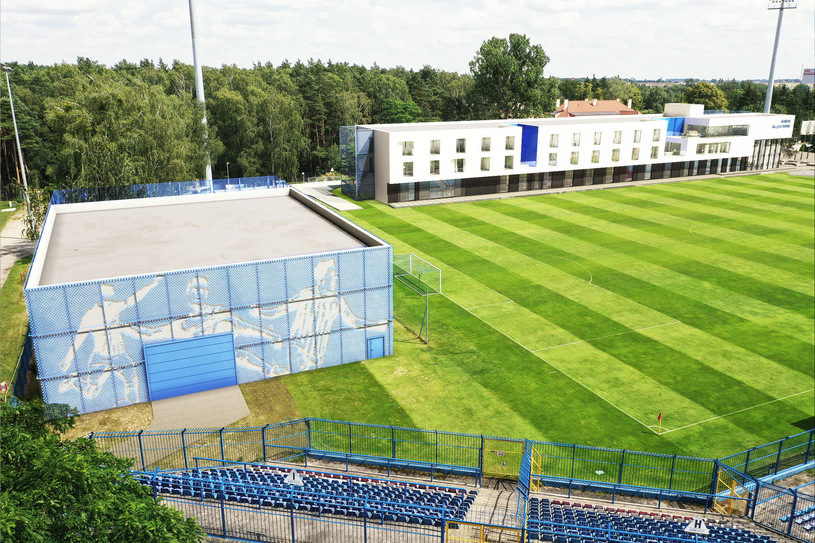 Projprzem Budownictwo will build a modern Research and Development Center of the Lech Poznań Academy in Wronki